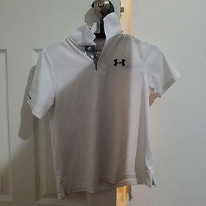 Under armour golf shirt